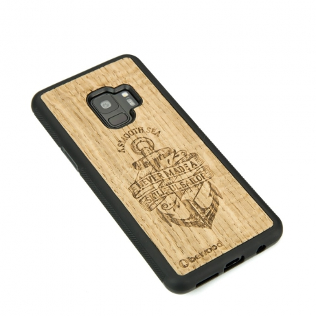 Drewniane Etui Samsung Galaxy S9 KOTWICA DĄB
