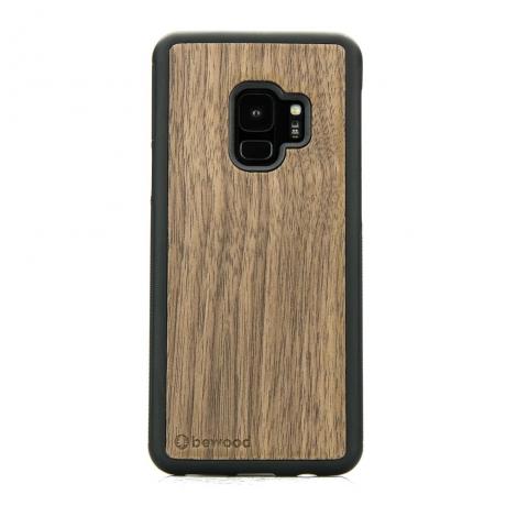 Drewniane Etui Samsung Galaxy S9 ORZECH AMERYKAŃSKI