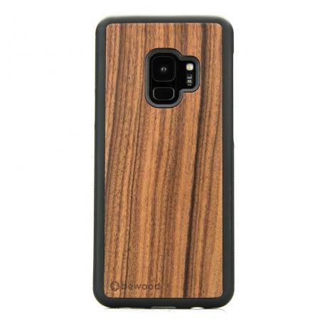 Drewniane Etui Samsung Galaxy S9 PALISANDER SANTOS