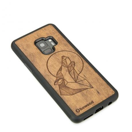 Drewniane Etui Samsung Galaxy S9 WILK IMBUIA