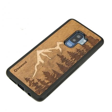 Drewniane Etui Samsung Galaxy S9+ GÓRY IMBUIA