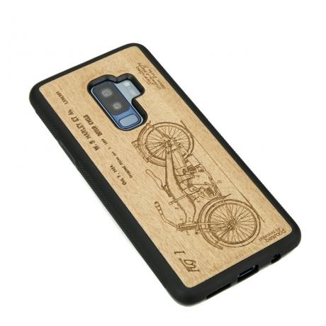 Drewniane Etui Samsung Galaxy S9+ HARLEY PATENT ANIEGRE