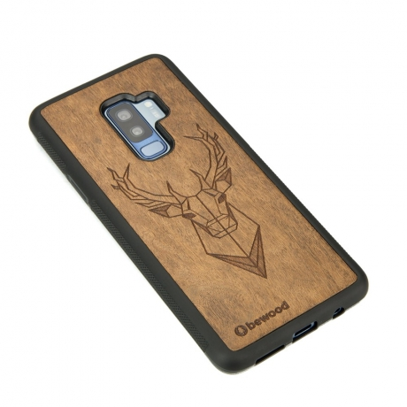 Drewniane Etui Samsung Galaxy S9+ JELEŃ IMBUIA