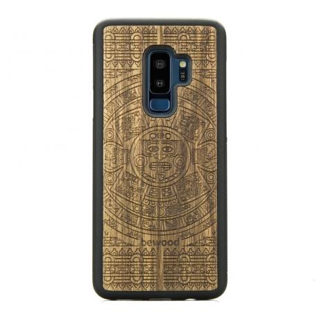 Drewniane Etui Samsung Galaxy S9+ KALENDARZ AZTECKI LIMBA