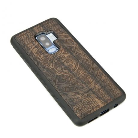 Drewniane Etui Samsung Galaxy S9+ KALENDARZ AZTECKI ZIRICOTE