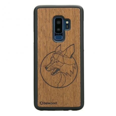 Drewniane Etui Samsung Galaxy S9+ LIS MERBAU