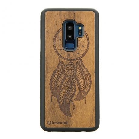 Drewniane Etui Samsung Galaxy S9+ ŁAPACZ SNÓW IMBUIA