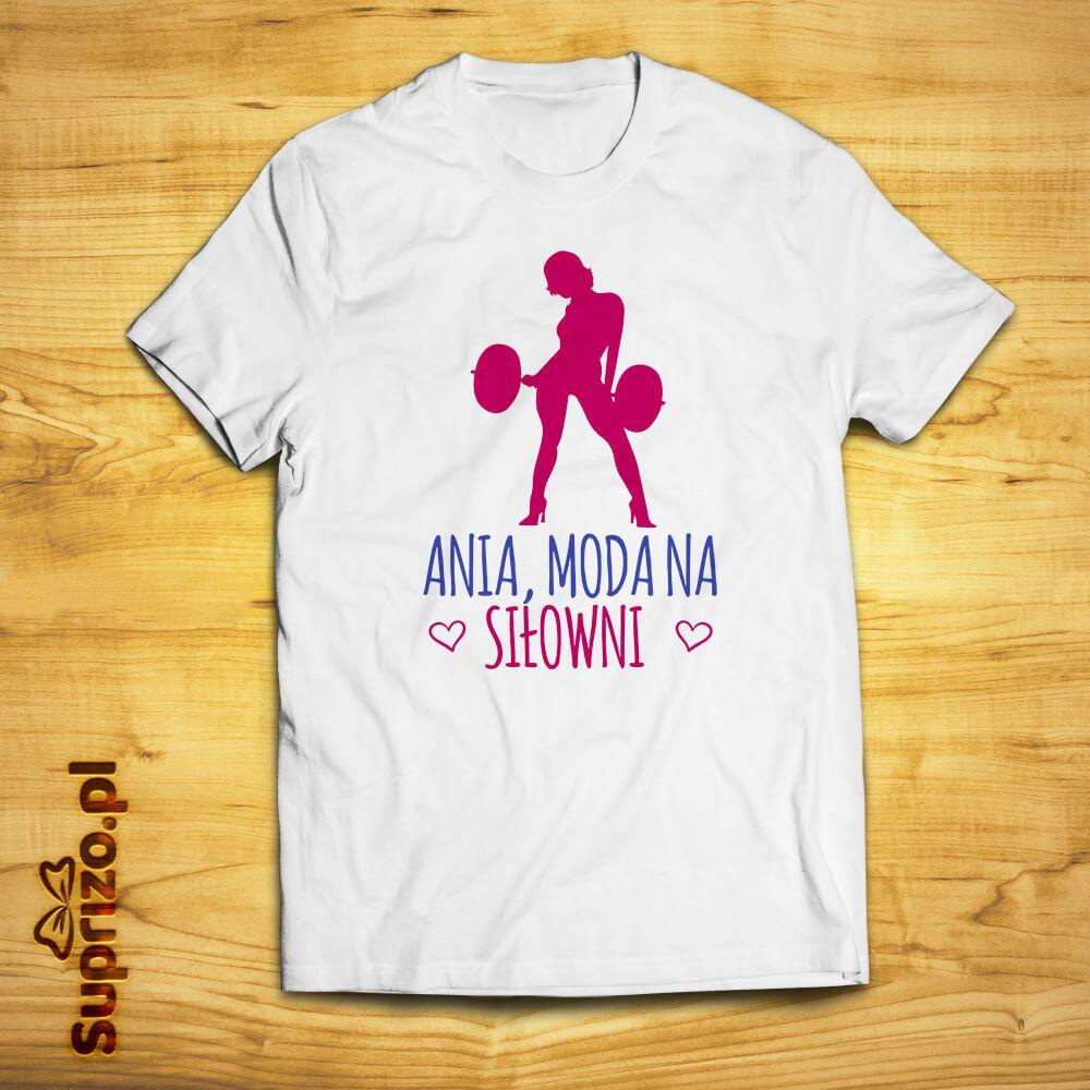 Koszulka dla sportsmenki/fitnesski personalizowana