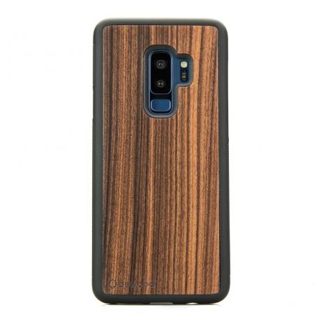 Drewniane Etui Samsung Galaxy S9+ PALISANDER SANTOS