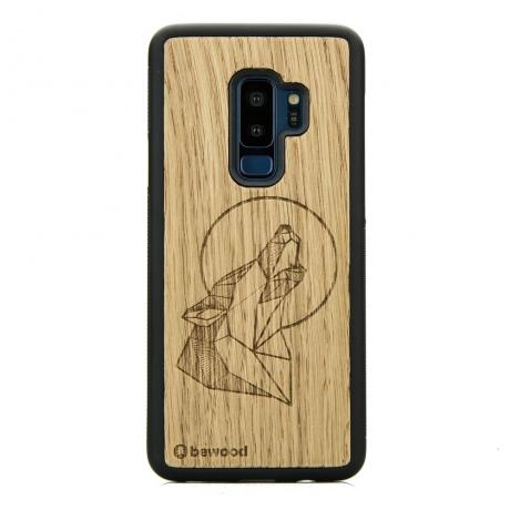 Drewniane Etui Samsung Galaxy S9+ WILK DĄB