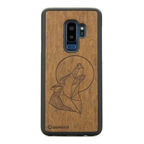 Drewniane Etui Samsung Galaxy S9+ WILK IMBUIA