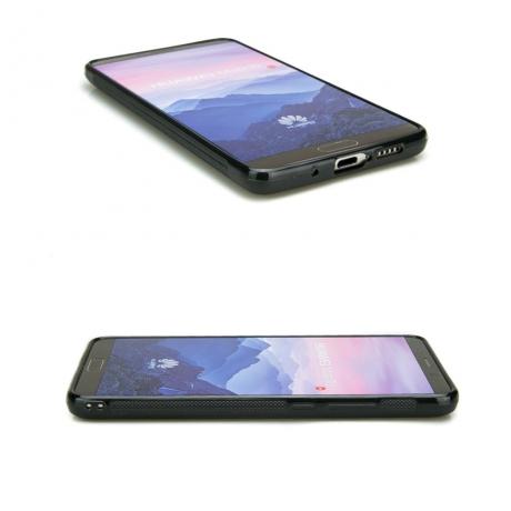 Drewniane Etui Huawei Mate 10 DĄB WĘDZONY
