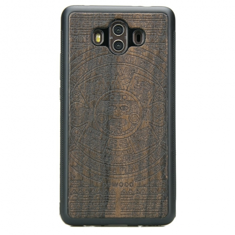Drewniane Etui Huawei Mate 10 KALENDARZ AZTECKI ZIRICOTE