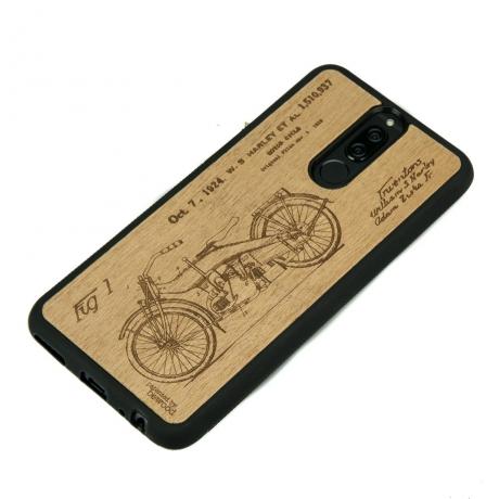 Drewniane Etui Huawei Mate 10 Lite HARLEY PATENT ANIEGRE