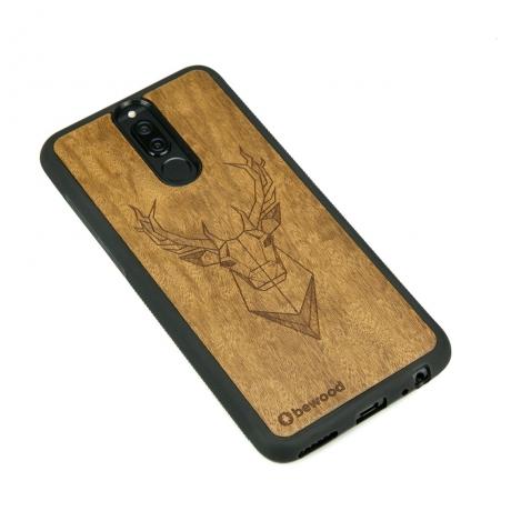 Drewniane Etui Huawei Mate 10 Lite JELEŃ IMBUIA