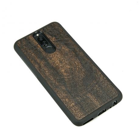 Drewniane Etui Huawei Mate 10 Lite KALENDARZ AZTECKI ZIRICOTE