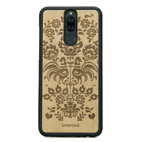 Drewniane Etui Huawei Mate 10 Lite POLSKI FOLK ANIEGRE