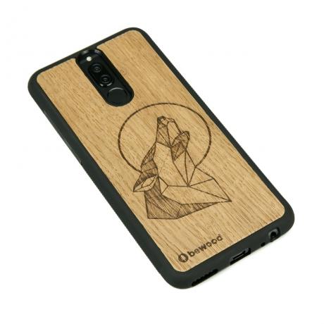 Drewniane Etui Huawei Mate 10 Lite WILK DĄB