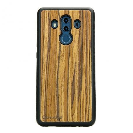 Drewniane Etui Huawei Mate 10 Pro OLIWKA