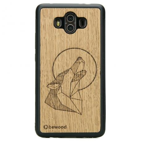 Drewniane Etui Huawei Mate 10 WILK DĄB