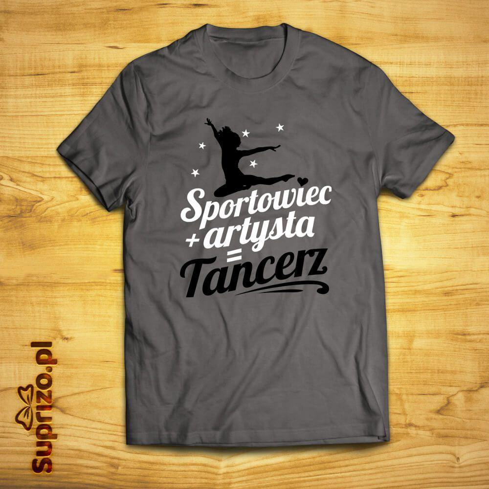 Koszulka dla tancerki z motywem i napisem