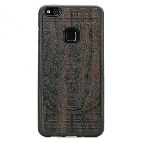 Drewniane Etui Huawei P10 Lite KALENDARZ AZTECKI ZIRICOTE