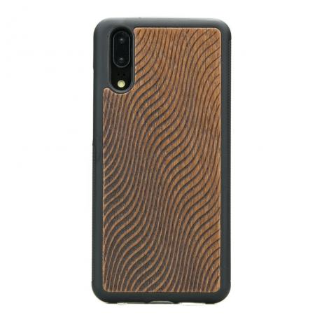 Drewniane Etui Huawei P20 FALE MERBAU