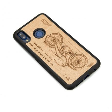 Drewniane Etui Huawei P20 Lite HARLEY PATENT ANIEGRE