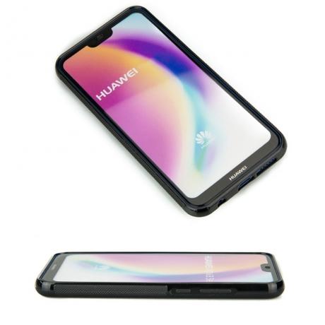 Drewniane Etui Huawei P20 Lite MANDALA JABŁOŃ