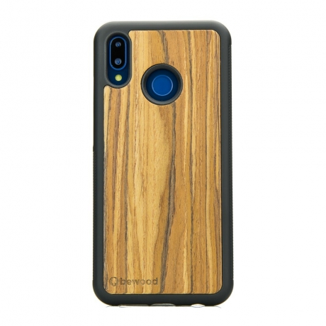 Drewniane Etui Huawei P20 Lite OLIWKA