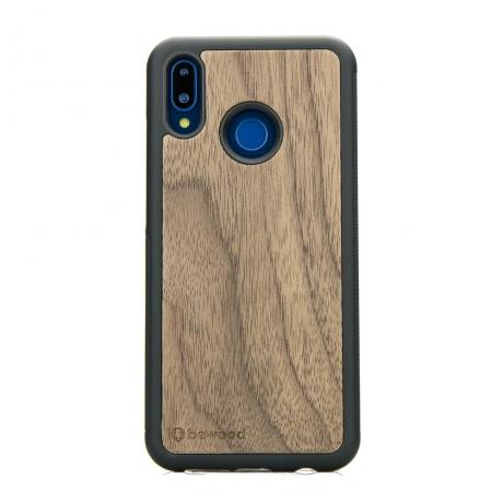 Drewniane Etui Huawei P20 Lite ORZECH AMERYKAŃSKI