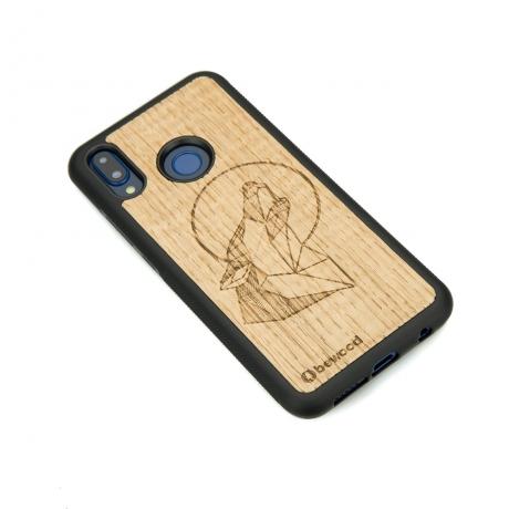 Drewniane Etui Huawei P20 Lite WILK DĄB
