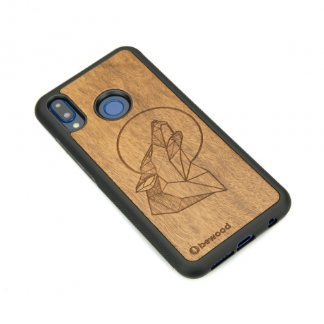 Drewniane Etui Huawei P20 Lite WILK IMBUIA