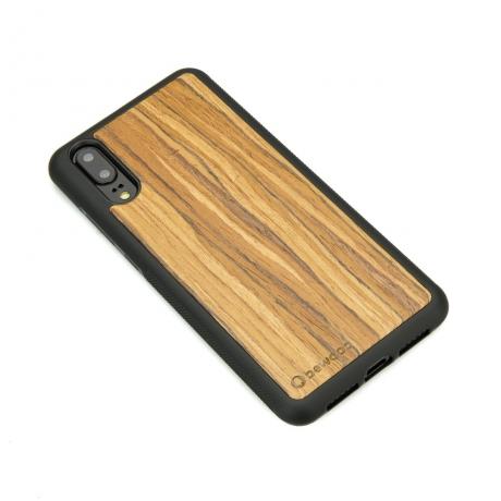 Drewniane Etui Huawei P20 OLIWKA