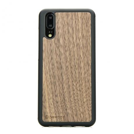 Drewniane Etui Huawei P20 ORZECH AMERYKAŃSKI