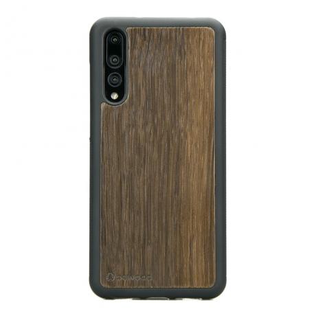 Drewniane Etui Huawei P20 Pro DĄB WĘDZONY