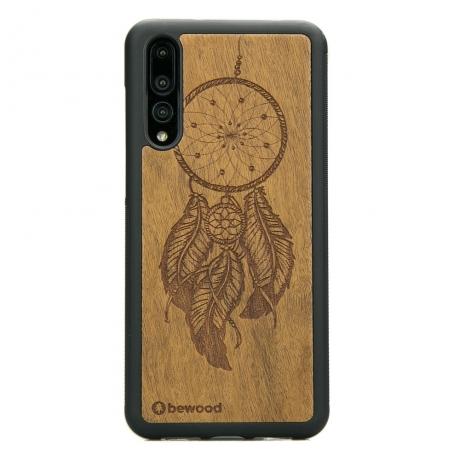 Drewniane Etui Huawei P20 Pro ŁAPACZ SNÓW IMBUIA