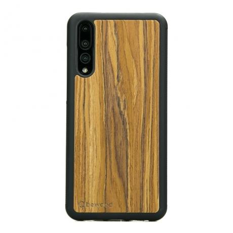 Drewniane Etui Huawei P20 Pro OLIWKA