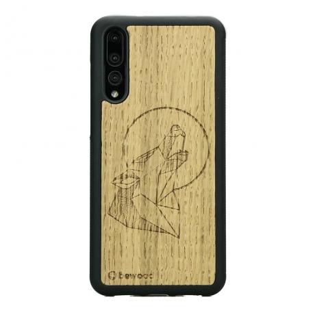 Drewniane Etui Huawei P20 Pro WILK DĄB