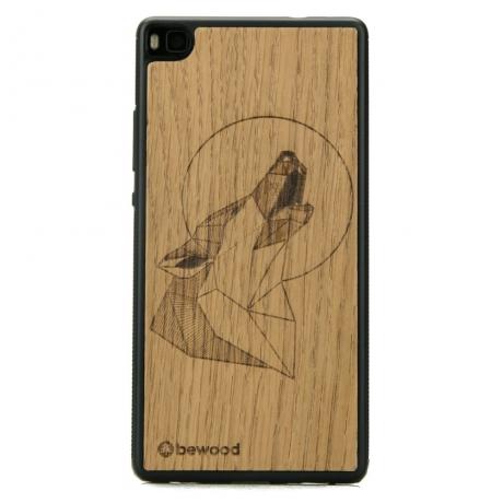 Drewniane Etui Huawei P8 WILK DĄB