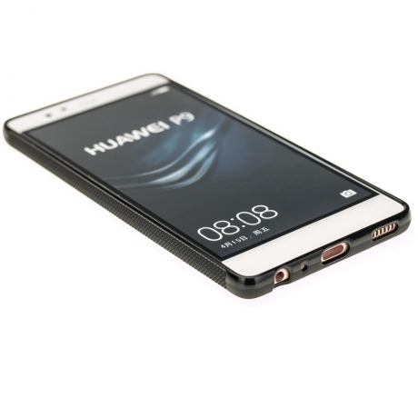 Drewniane Etui Huawei P9 HARLEY PATENT ANIEGRE