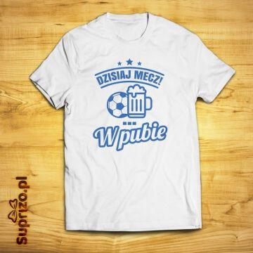 Koszulka dla fana piłki nożnej z zabawnym nadrukiem