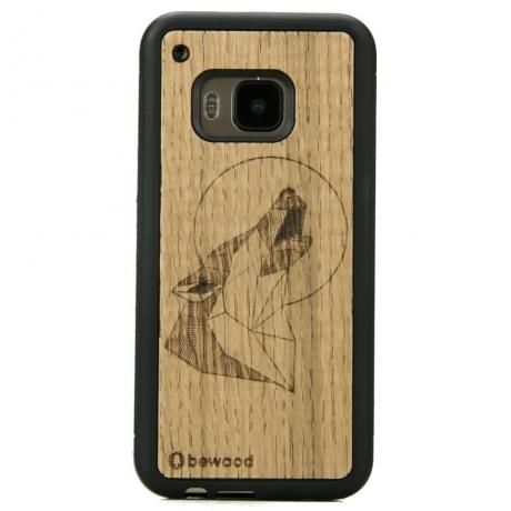 Drewniane Etui HTC M9 WILK DĄB