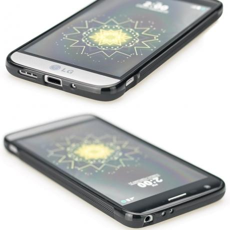 Drewniane Etui LG G5 HAMSA IMBUIA