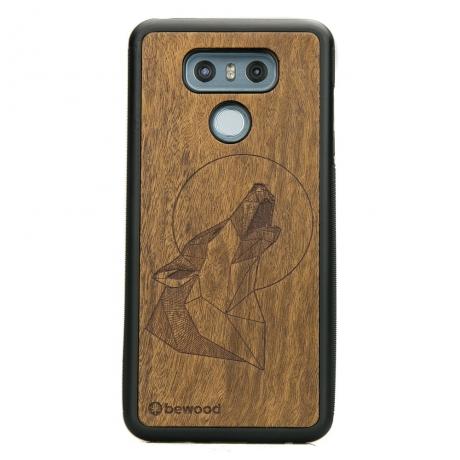 Drewniane Etui LG G6 WILK IMBUIA